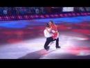 Мария Кожевникова и Алексей Ягудин в шоу Лёд и пламень. Танец на льду. Достояние республики.