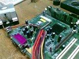 Процессор AMD без кулера, несколько секунд...