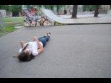 зашла в скейт парк в клайпеде ахах