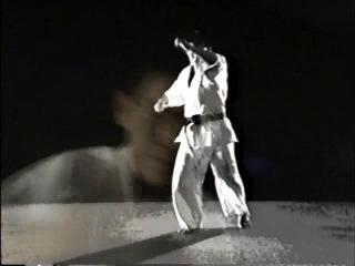 HIROKI KUROSAWA-техника каратэ Киокушин