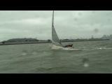 Парусный спорт.олимпийский класс спортивных гоночных яхт