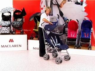 Maclaren Techno XLR - самая популярная коляска-трость