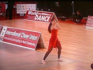 Чемпионка Мира по акробатическим танцам 2009г.Остроухова Ольга