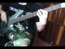 Symphony X. Domination. Intro Bass-Cover.