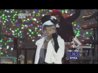 """Rihanna - Run This Town / Umbrella (""""New Year's Eve With Carson Daly"""") (2009)"""
