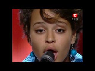 X-Factor Украина Сюзанна Абдулла 2010 - Halo, Beyonce