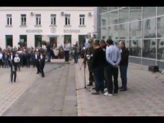 Митинг во Владикавказе 15.09.2010!Азамат Красавчик,не побоялся высказать свое мнение