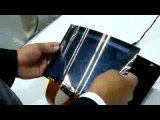 Гибкий дисплей Toshiba с функцией зумирования изображения при сгибании