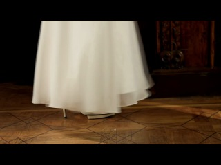 Рекламный ролик свадебных платьев Slanovskiy (фотограф Геннадий Працевич (G-Models), модель Юля Шигарова) январь 2011