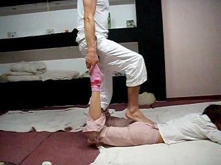 Ускоренный вариант Тайского массажа ( несколько приёмов - методика Евгения Илинскаса)