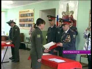 В Центре профессиональной подготовки УВД по Мурманской состоялось торжественное приведение к присяге слушателей ЦПП