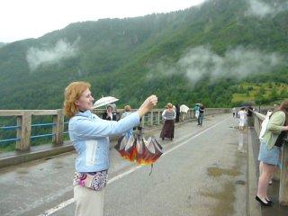 ..Как я облачко ловила))))