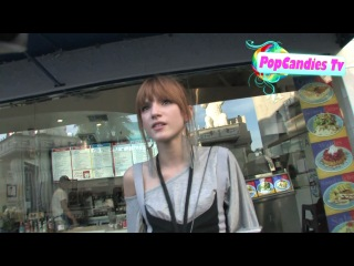 Bella Thorne leaving Gnomeo And Juliet Premiere in Hollywood.