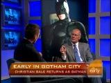 Темный рыцарь  The Dark Knight (2008) - Интервью Кристиана CBS (Harry Smith)