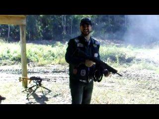 Сайга 12 автоматическая стрельба II