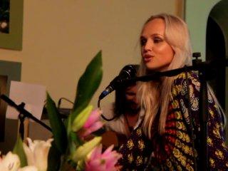 Авторский вечер Дарьи Богомазовой на выставке Виталия Колядина 2010-07-20