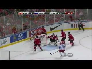 Финал U20 ЧМ по хоккею 2011. Канада - РОССИЯ !(американская версия событий)