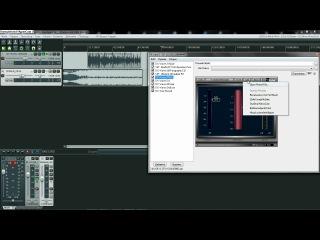 Видео урок по REAPER(обработка РЭП голоса,капы вокала )
