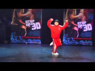Bboy Jalen at the Step Up 3D Premiere Party at Club Avalon (2010)