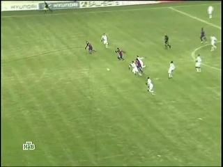 Лига Европы. 5 тур. ЦСКА - Лозанна 3-0 Гол Тошича 02.12.10