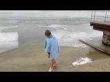 Крещение... Папа, Ромчик и я