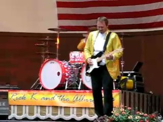 Rick K. and the Allnighters - Sharp Dressed Man