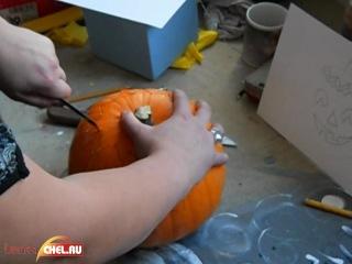 Как подготовить тыкву для Хэллоуина (Фильм Второй)
