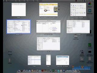 Урок 11. Быстрое переключение между окнами. Expose / Mac OS X 10.6 Snow Leopard