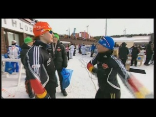 Магдалена Нойнер отжигает перед золотой эстафетой Ханты-Мансийска