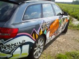 Canyon Graffiti Edition Road Show 2010 - Audi A6 Test drive_-1