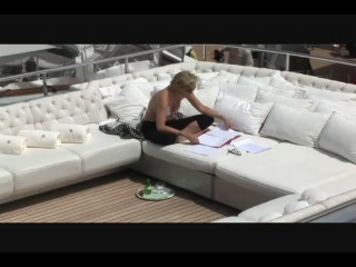 Sharon Stone in a bikini on the yacht on Celebrity Wire