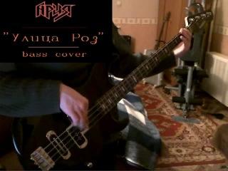 Ария - Улица Роз (bass cover) v.1