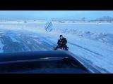 Покатушки на карибасах по ледовой трассе 30-01-2011