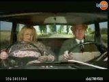 2 руля в машине и бабка-юмористка.