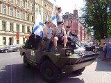 День ВМФ 2010(шествие колонны к м.Чкаловская)