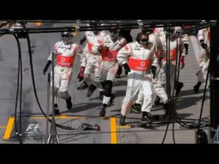 Formula 1 Grand Prix Italy 2010 (30 Seconds to Mars - This Is War ) (высокое качество) 163