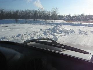 Трасса для Дрифта в Калачинске на озере Калач!!!