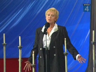 Алиса Фрейндлих читает стихи на встрече со зрителями в Останкино (1999)