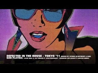 Defected in The House Tokyo`11. Mixed by Studio Apartment and Rae