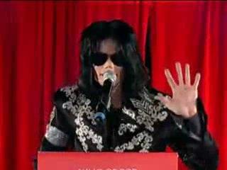 Последнее обращение Майкла Джексона к фанатам
