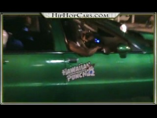 HipHopCars.com  Black Bike Week Edition Clip 1 Donk Cars, Chevy Bubbles and More!