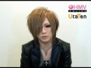 "the GazettE Ruki ""ehhhhhhh"" PLEDGE comment"