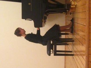 Я на концерте по фортепиано!