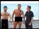 Галустян и Рева на нудиском пляже