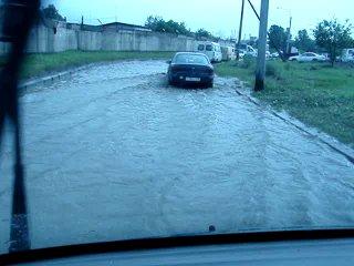 После дождичка в четверг... Гроза 25.06.10 г. Едем, едем на работу!!!