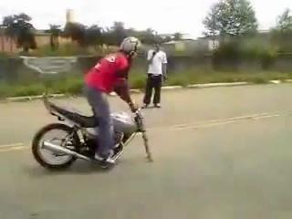 ПРИКОЛ С МОТО за штурвалом Стас)))