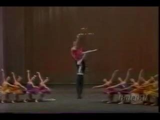 Paquita-Pas de deux (Volochkova in Vaganova) 1992