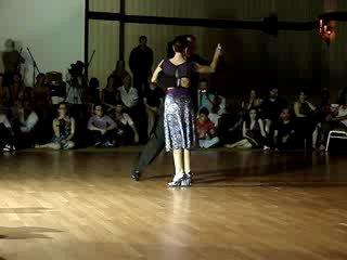 Эстебан Морена и Клаудиа Кадега - Тангон 2010