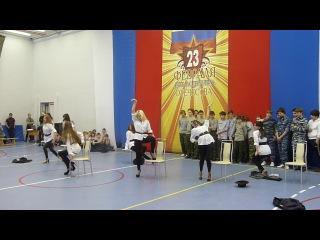 Рыцарь года 2011 - группа поддержки 10-ого класса.