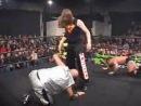 B-Boy vs. Alex Shelley vs. Chris Hero, CZW Cage Of Death V